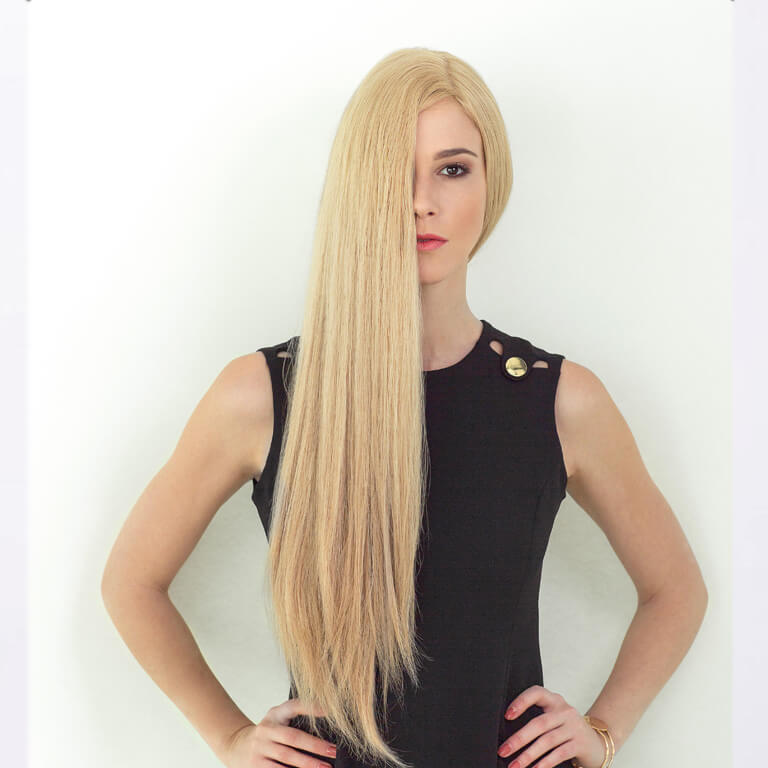 Dening-Hair-Modell Arielle
